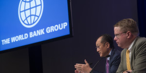 Jim Yong Kim, president of the World Bank Group.